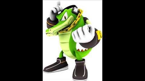 Sonic Party 10 - Vector The Crocodile Voice Sound