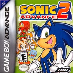 Box Sonic Advance 2