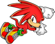 Classic knuckles sonic mania