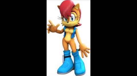 Sonic The Hedgehog (2006) - Princess Sally Acorn Voice
