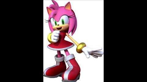 Sonic Party 10 - Amy Rose Voice Sound