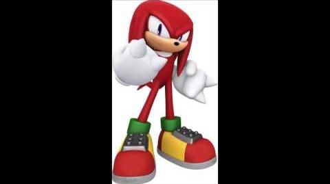 Sonic The Hedgehog (2006) - Knuckles The Echidna Voice