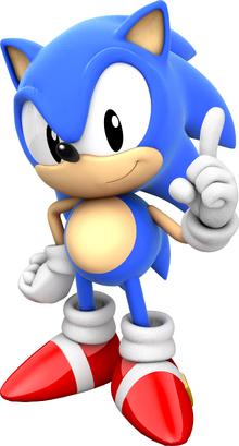 Classic Sonic 01