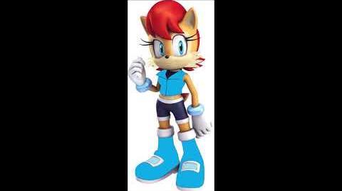 Sonic Party 10 - Princess Sally Acorn Voice Sound