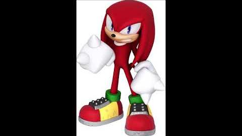 Sonic Party 10 - Knuckles The Echidna Voice Sound
