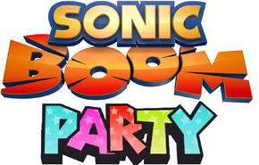 Sonic Boom Party Logo