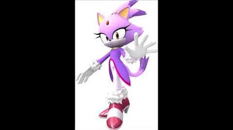 Sonic Party 10 - Blaze The Cat Voice Sound