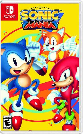 Sonic Mania SwitchBoxArt