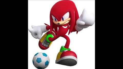Mario & Sonic at the London 2012 Olympic Games - Knuckles The Echidna Voice Sound