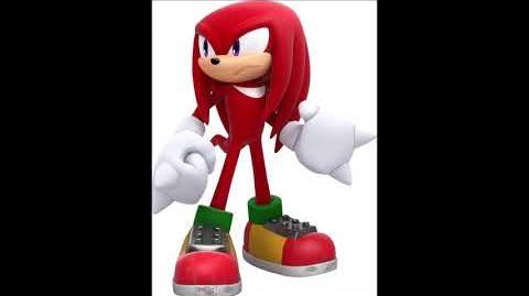 Sonic Forces - Knuckles The Echidna Voice Sound