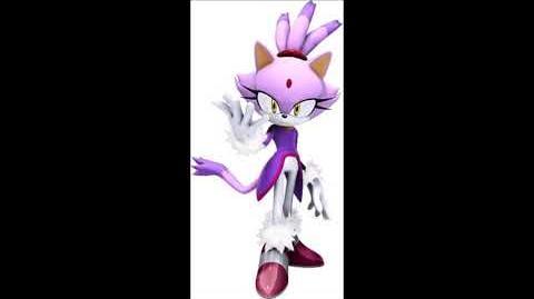 Sonic The Hedgehog 2006 - Blaze The Cat Voice Sound