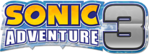 Sonic adventure 3 logo by nuryrush-da3jk6k