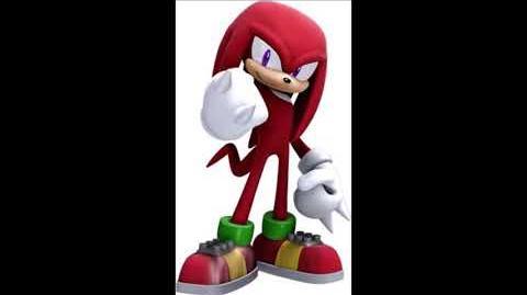 Sonic The Hedgehog 2006 - Knuckles The Echidna Voice Sound