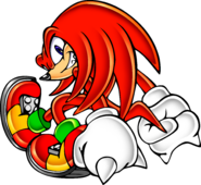 Sonic Shuffle Knuckles