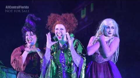 Hocus Pocus Villain Spelltacular 2017 FULL SHOW at Mickey's Not So Scary Halloween Party -4K-