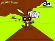 Looney Puffs poster (Wile E. Coyote)