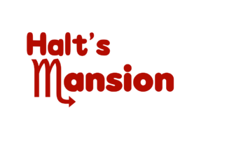 Halt's Mansion logo