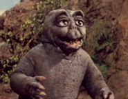 All Monsters Attack - Minilla stares intently