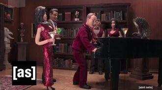 Beware the Bat-Piano Robot Chicken Adult Swim