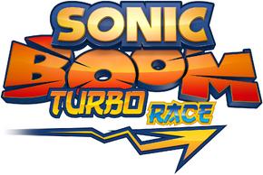Sonic boom turbo race logo by nuryrush-d8x2a5k