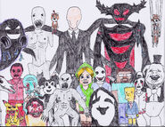 Creepypasta group photo by felixlyons-d4t9yjk