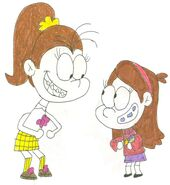 Luan meets mabel by sithvampiremaster27-da0a7md