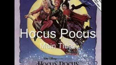 Hocus Pocus - Main Titles SCORE RARE