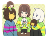Undertale: Tales Of Asriel, Chara and Frisk