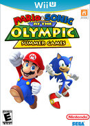 Mario & Sonic at the Olympic Summer Games Wii U Boxart