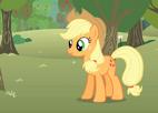Applejack bucking apples S1E12