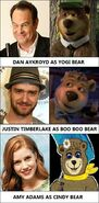 Behind the new voice actors of Yogi Bear 2 (2017)
