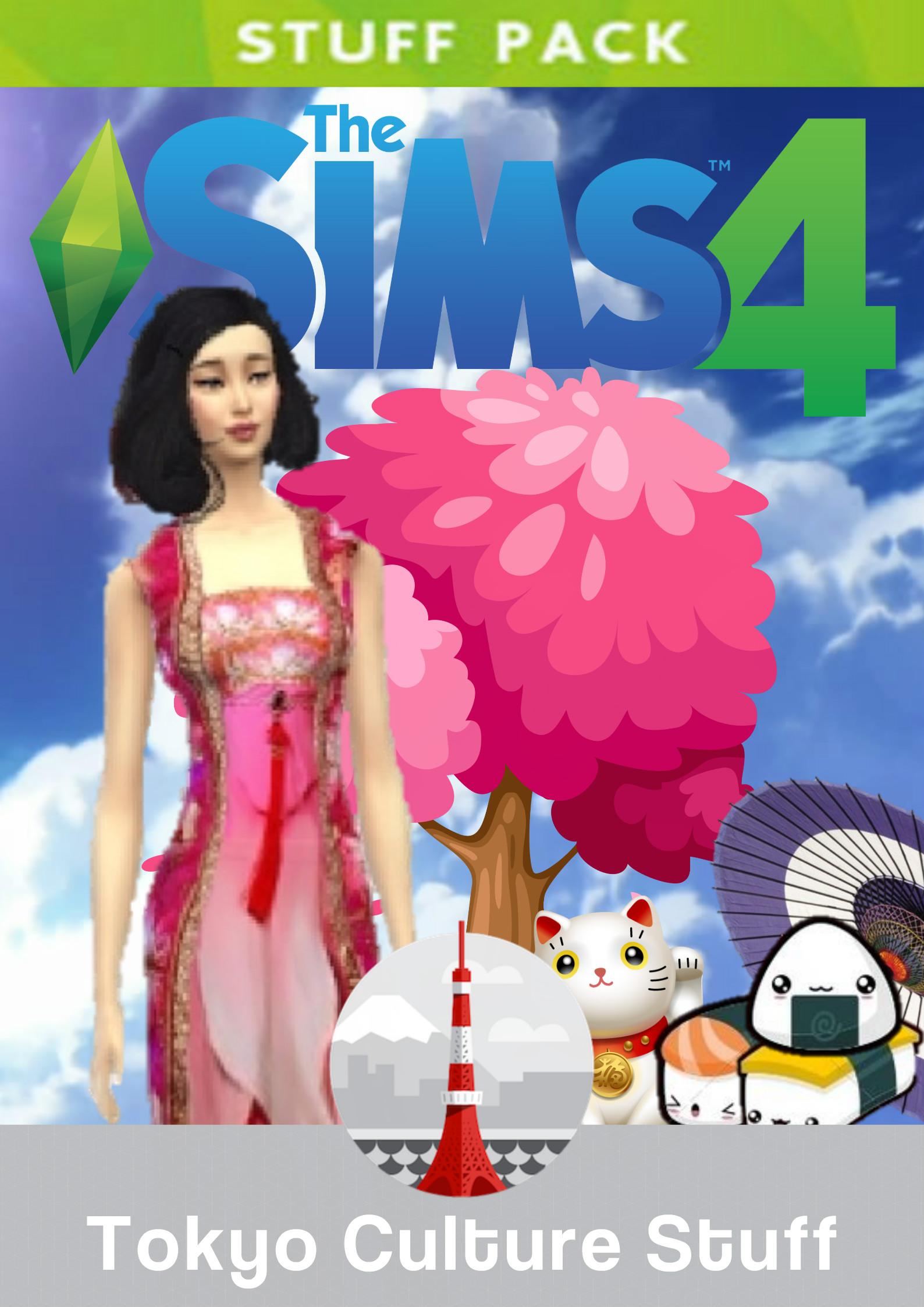 The Sims 4 Tokyo Culture Stuff | Idea Wiki | FANDOM