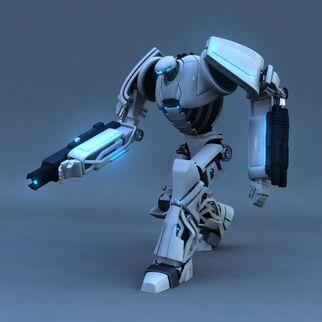 3D-model-robot-rigged D