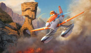 Dusty Crophopper from Planes Fire and Rescue