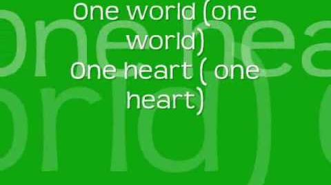 The Cheetah Girls- One World lyrics