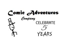 Comic Adventures 5th Years