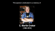 Croker's tribute message