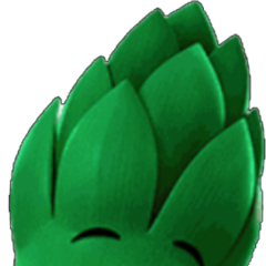 Junior Asparagus as Baby Winky