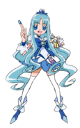 Cure marine render by animegirl47899-d58f64u