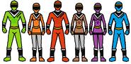 6 rangers 2