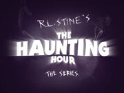 The haunting hour logo