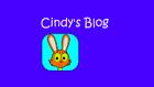 Cindy's Blog title card