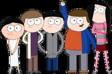 OTW main characters image
