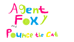 Agent Foxy and Pounce the Cat Logo