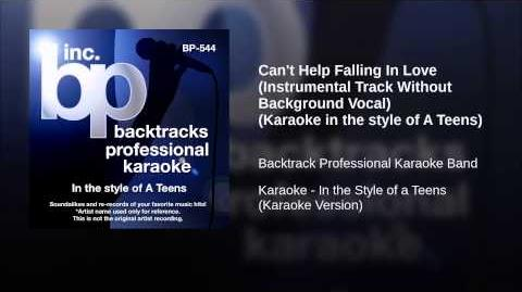 Can't Help Falling In Love (Instrumental Track Without Background Vocal) (Karaoke in the style...