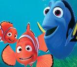 Nemo , Marlin y Dory