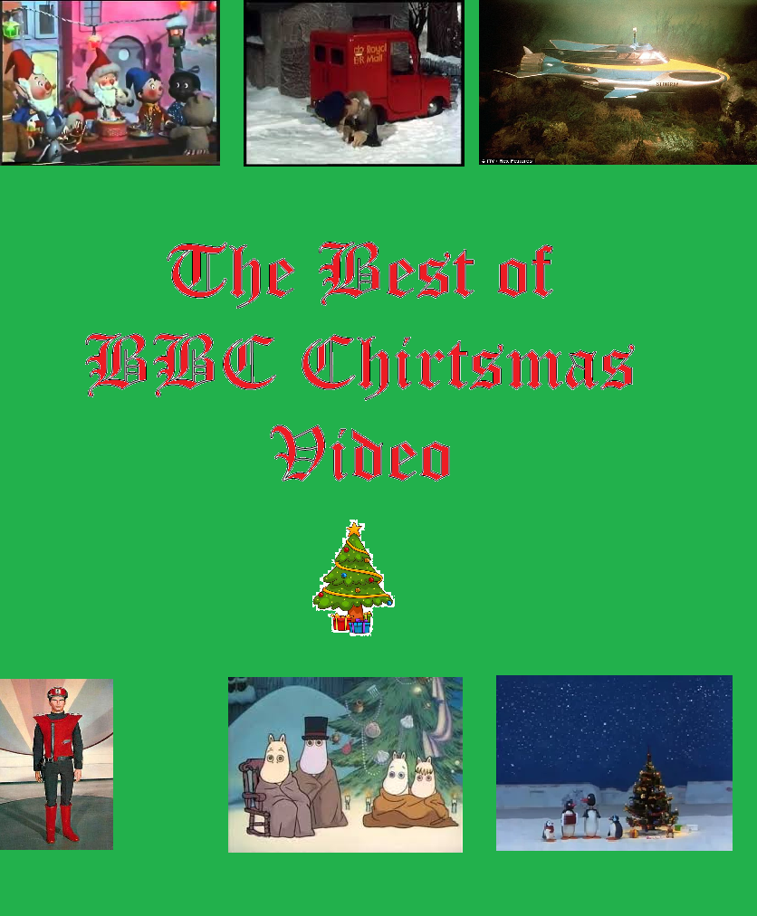 bbc christmas vhs cover - Best Christmas Videos