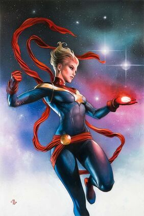 Infinity Countdown Vol 1 1 Captain Marvel Holds Infinity Variant Textless