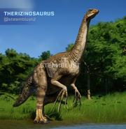 JWE Therizinosaurus