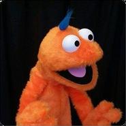 Orange Monster Kid